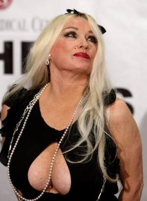 ... mamie van doren actress mamie van doren arrives at the thalians 53rd
