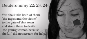 ... Witnesses Say #2: It's Only a Legitimate Rape if You Scream » sad