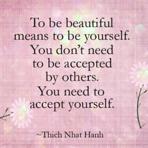 Beautiful quote by Thich Nhat Hanh.. share it with anyone you love and ...