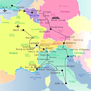 Map Of Switzerlandswitzerland Similiar Printable World And