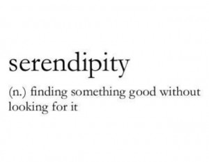 Serendipity, Quote