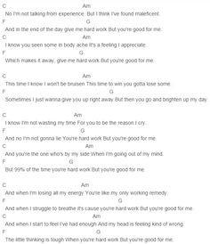 Ella Henderson - Hard Work Chords More
