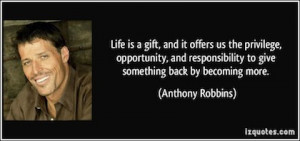 Quote About Giving Back
