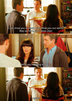 ... pictures pop culture tagged funny quotes new girl new girl quotes