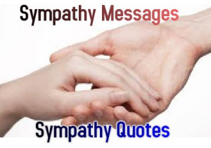 ... are some collection of famous Sympathy quotes for your reference