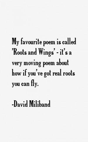 David Miliband Quotes & Sayings