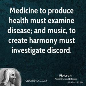 Plutarch Music Quotes