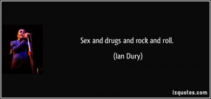 More Ian Dury Quotes
