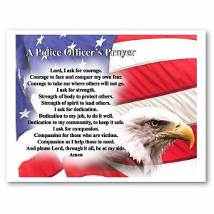 Fallen Police Officer Prayer Police officer's prayer