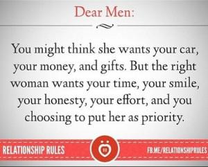 Dear Men: