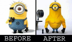 Minion work out: Minions Fever, Bodybuilding Community, Fit Workout ...