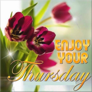 Thursday blessing..