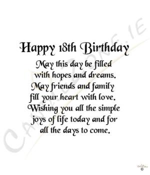 ... birthday wishes for 18th birthday invitations 18th birthday wishes