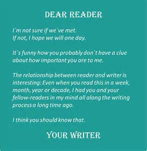 believe this quote should make writers realize the importance of the ...