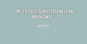 Packing Up and Moving Away Quotes