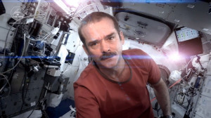 Astronaut Chris Hadfield shares 'unbeatable point of inspiration' for ...