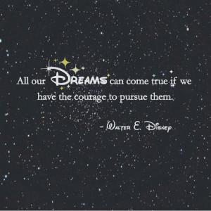 disney, dreams, phrases
