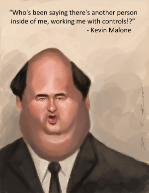 The Office: Kevin Malone by DevonneAmos