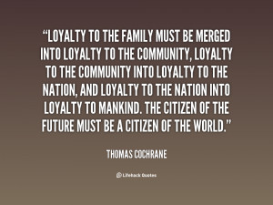 quotes about family loyalty