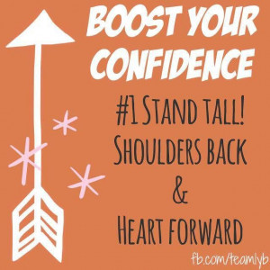 Confidence Boost! #teamlyb