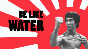 This short motion piece animates a famous quote from Bruce Lee.