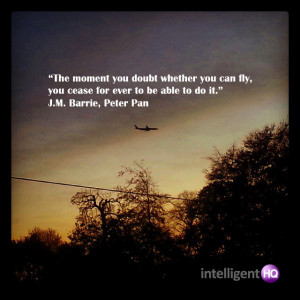 Quote by Peter Pan Intelligenthq