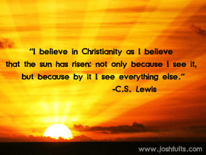 ... Life Quotes - Christians Quotes - Sayings - Great Joy from C.S. Lewis