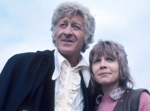 Filming their first adventure together 'Terror of the Autons ...