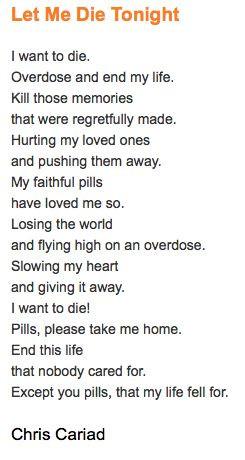 Let Me Die Tonight #Poem #Poetry