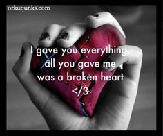 of my life with just broke up with me because he doesn't know when he ...