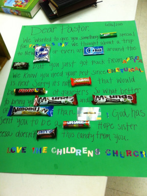 Children's church gives Pastor Alonzo something sweet for Father's Day ...