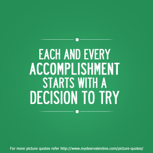 Accomplishment Quotes