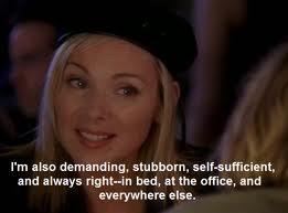 well said Samantha!! love her!