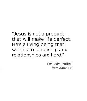 Donald Miller's Blog // Quote from upcoming book