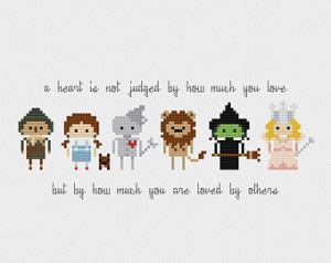The Wizard of Oz Quote Cross Stitch Pattern PDF Instant Download ...