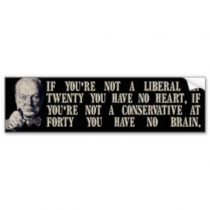 Funny Conservative Quotes About Liberals Churchill on conservatives ...