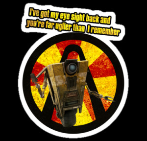 CLAPTRAP QUOTES by Krimmjow