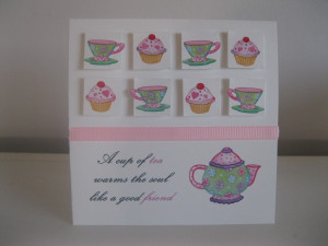 cup of tea- yes please!