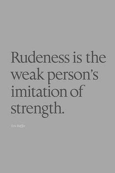 Jennifer Milsaps Wetzel Rudeness is not a strength, yet those flaunt ...