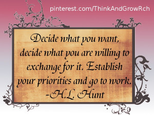 ... and go to work h l hunt # quotes http www mindmovies com 16059