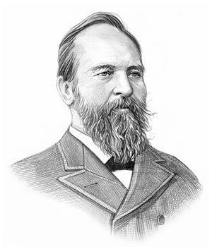 President James Garfield http://www.presidential-power.org