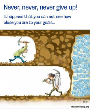 funny-never-give-up-funny-diamond-reach-goal-hard-work-funny-picture