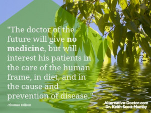 Thomas Edison Quotes The Doctor Of The Future Doctor of future quote