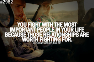 family, friends, fighting,