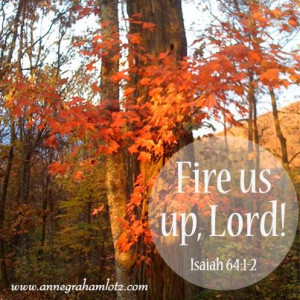 Anne Graham Lotz | Fire us up, Lord! Isaiah 64:1-2 # ...
