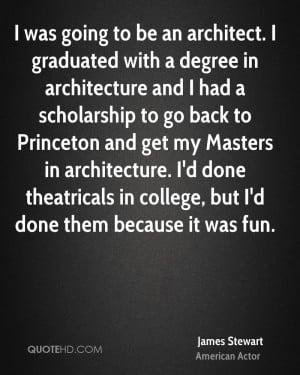 James Stewart Graduation Quotes