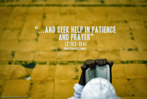 Here are some Islamic Quotes About Patience: