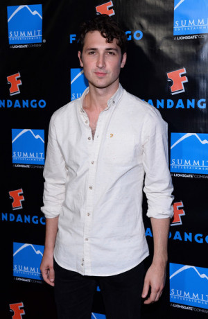 Ben Lloyd-Hughes Actor Ben Lloyd-Hughes arrives at Summit ...