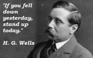 Wells's quote #1