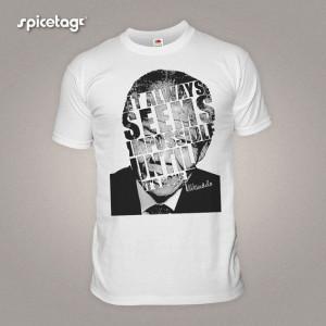 Nelson Mandela Tshirt South Africa Tshirt Hero Quote by Spicetag, £9 ...